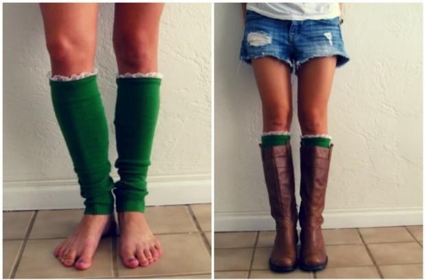 DIY Leg Warmers 1