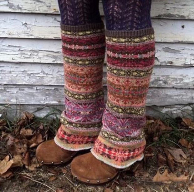 DIY womens Leg Warmers
