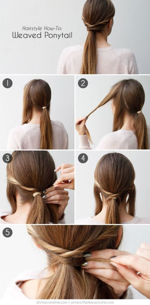 Easy and Fast DIY Hair...