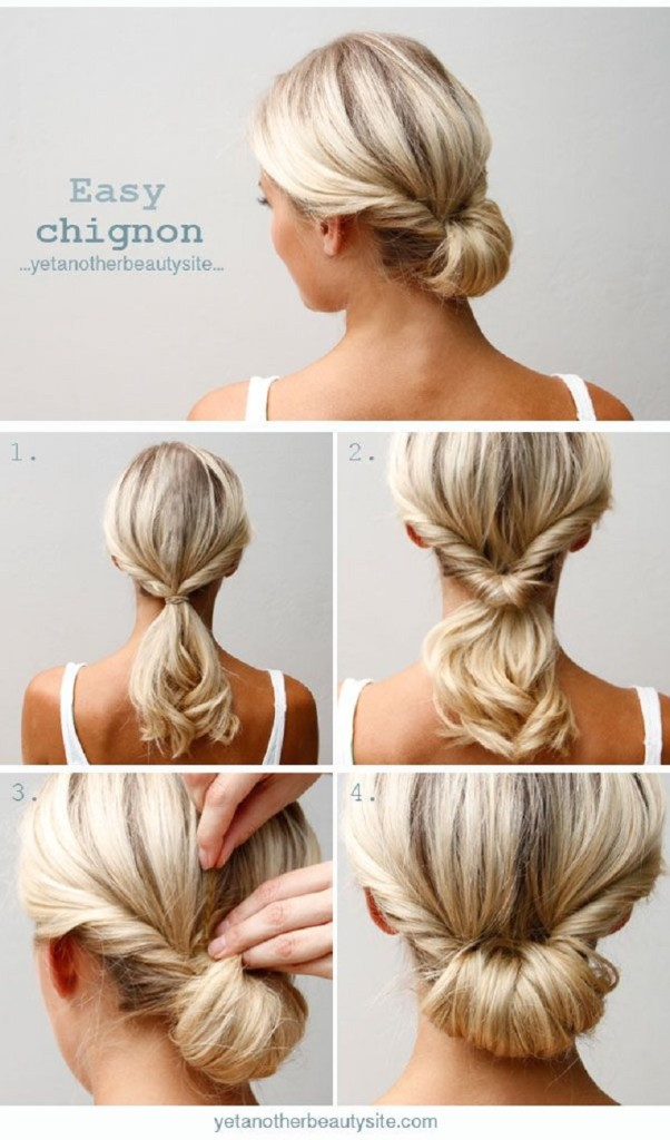Easy and Fast DIY Hairstyle Tutorials