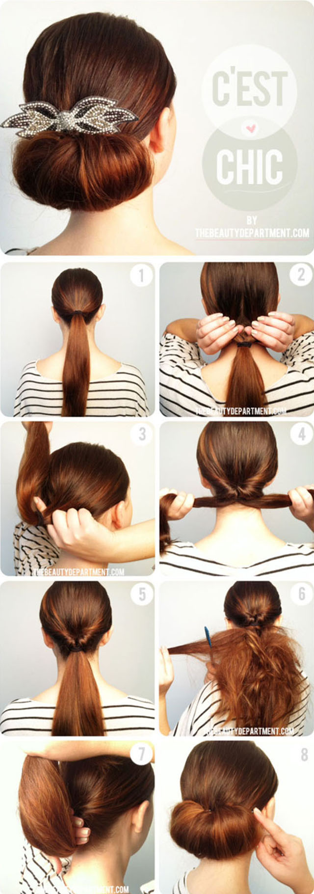 Easy and Fast DIY Hairstyle Tutorials 3