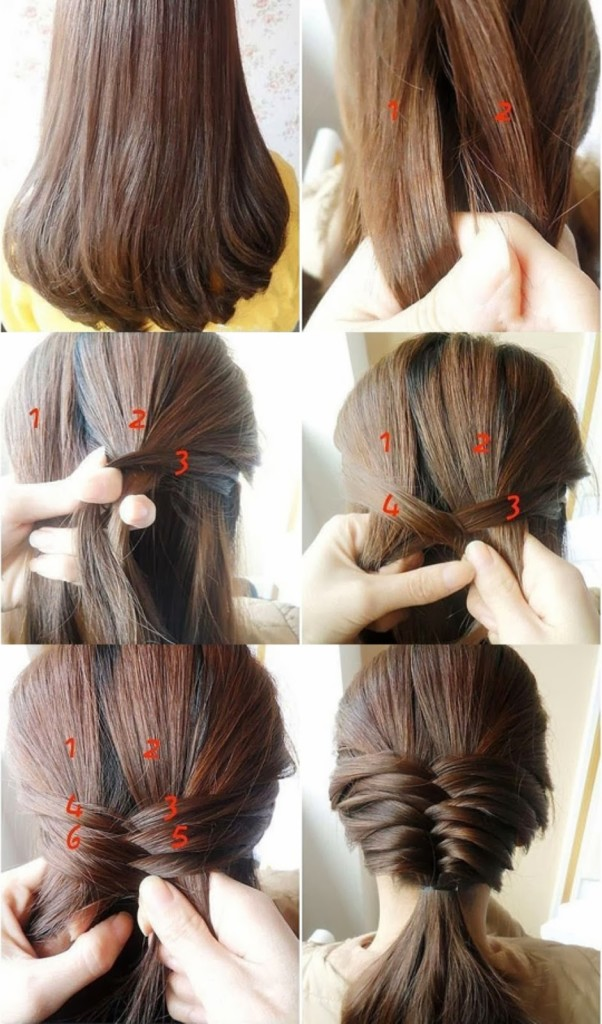 Hairstyles-for-Long-Hair-Step-by-Step 1