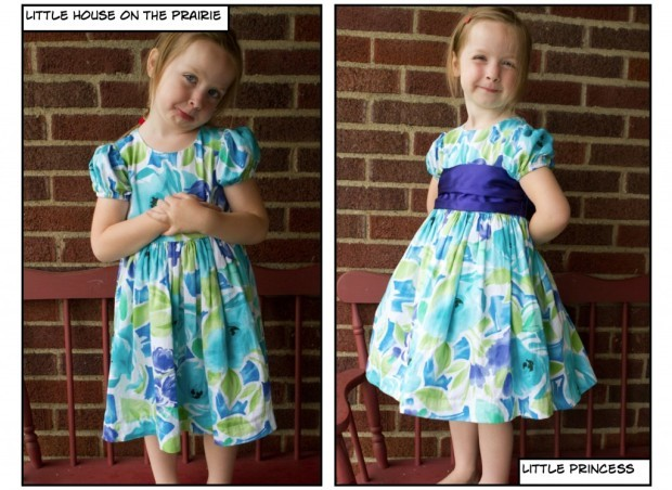 How to decorate a dress for girls 1