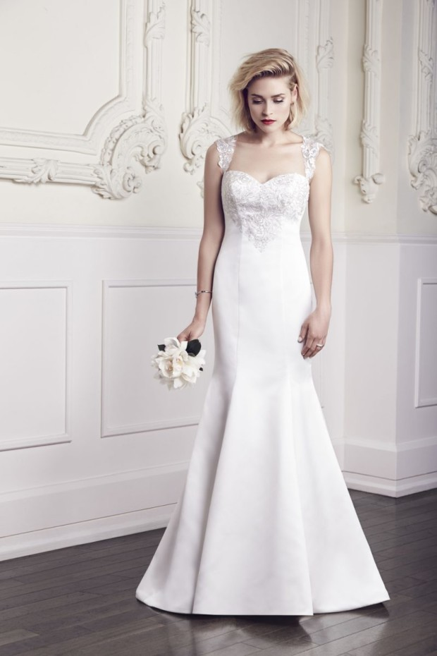 Mikaella Bridal Wedding Wear Spring Outfits 2015 1
