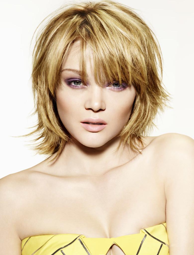 Прически для худого лица и тонких волос фото
