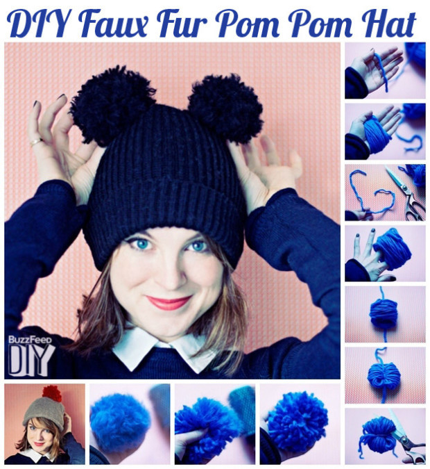 creative ways to make a hat for this winter 1