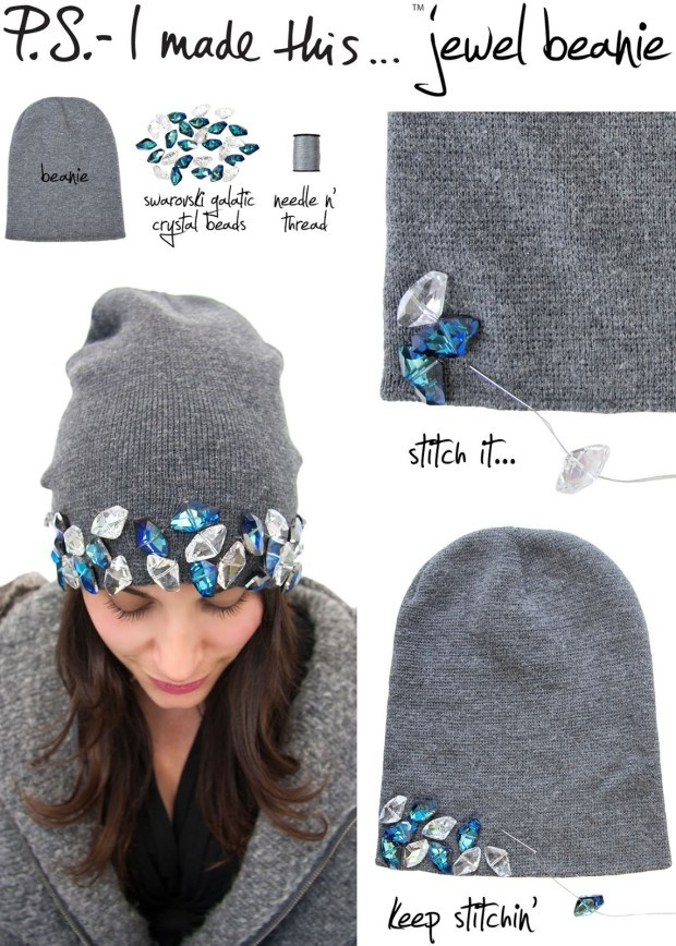 creative ways to make a hat for this winter 2
