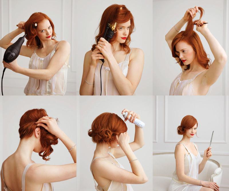 Pleasing Easy And Fast Diy Hairstyles Tutorials Fashion Beauty News Short Hairstyles Gunalazisus