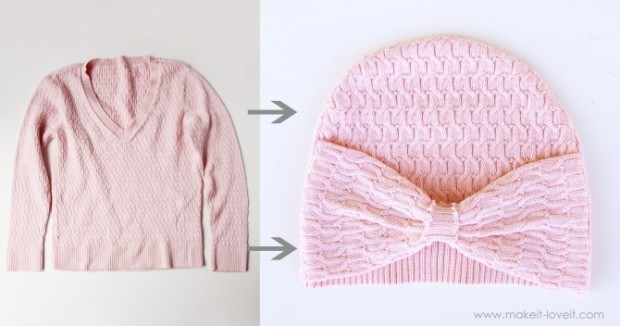 pink-sweater-hat