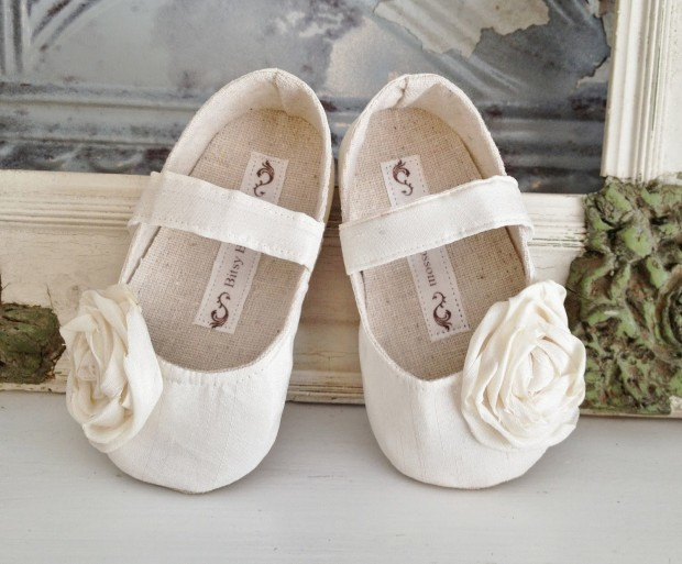 pretty-ivory-flower-girl-shoes