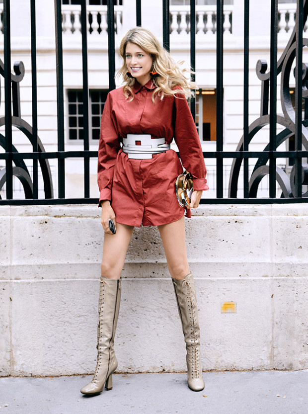 what to wear with boots this season 3