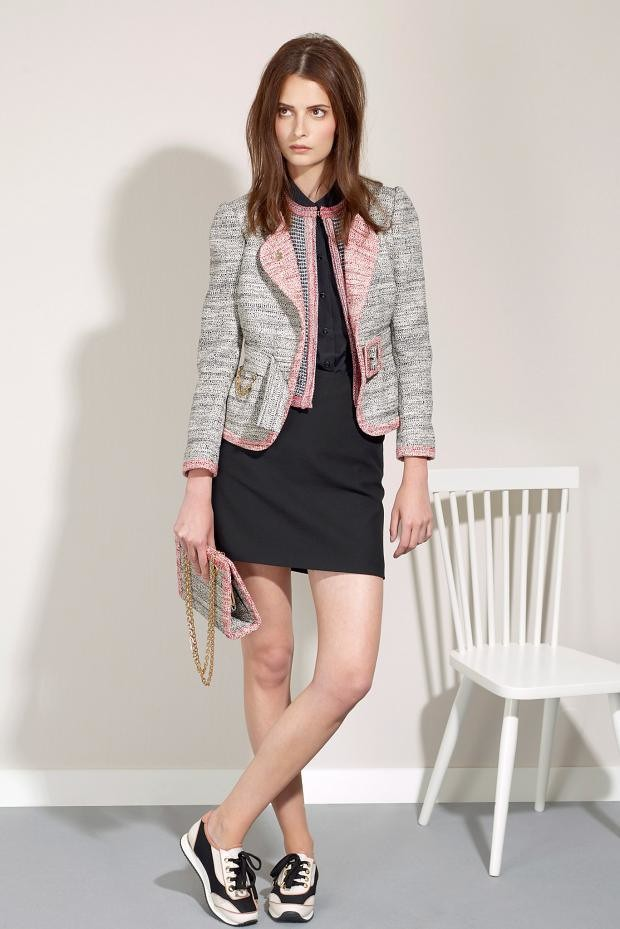 2015-Skirts-with-Jackets and sneakers