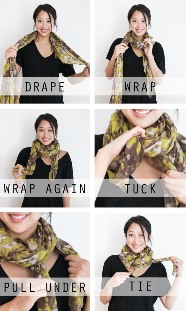 Amazing Ideas How to Tie a Scarf 3
