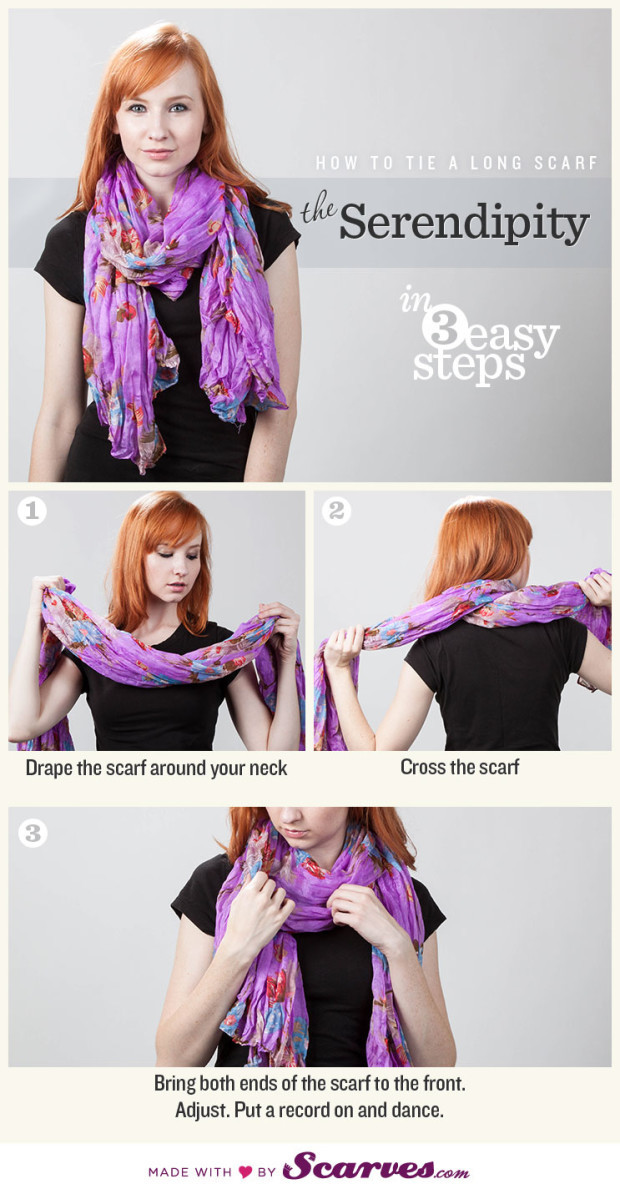 Amazing Ideas How to Tie a Scarf