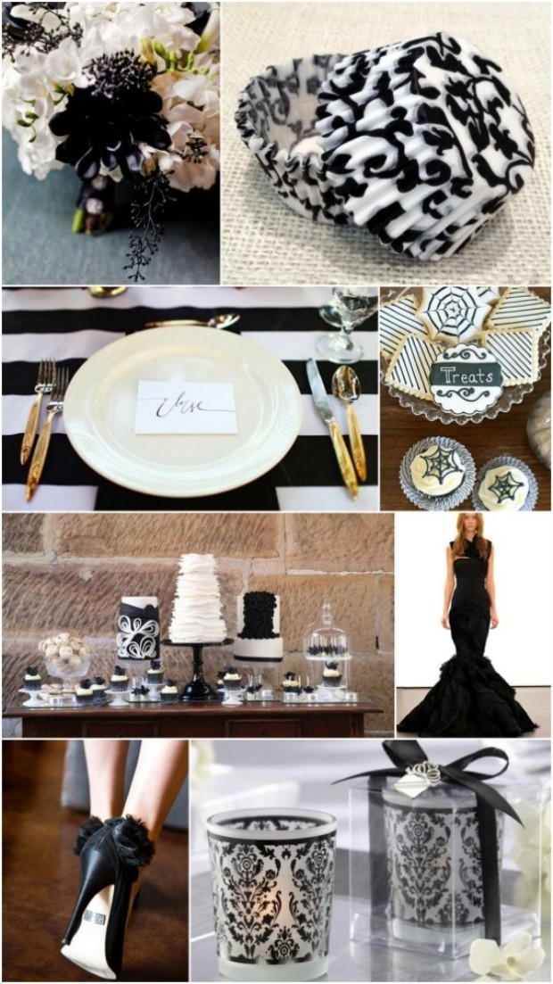 Black wedding ideas 2015-2016
