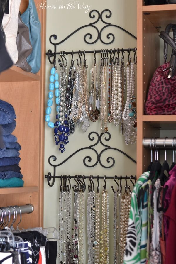 DIY Jewelry Storage Design Ideas 1