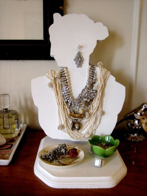 DIY Jewelry Storage Design Ideas