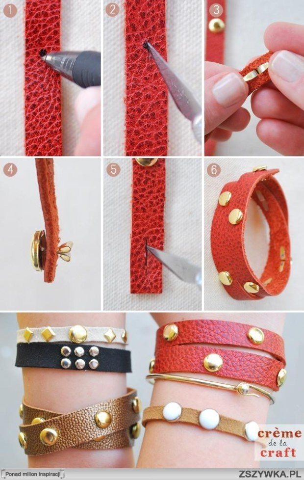 DIY-Leather-Studded-Wrap-Bracelet