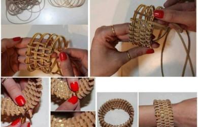 DIY-Leather-Wrapped-Bracelet