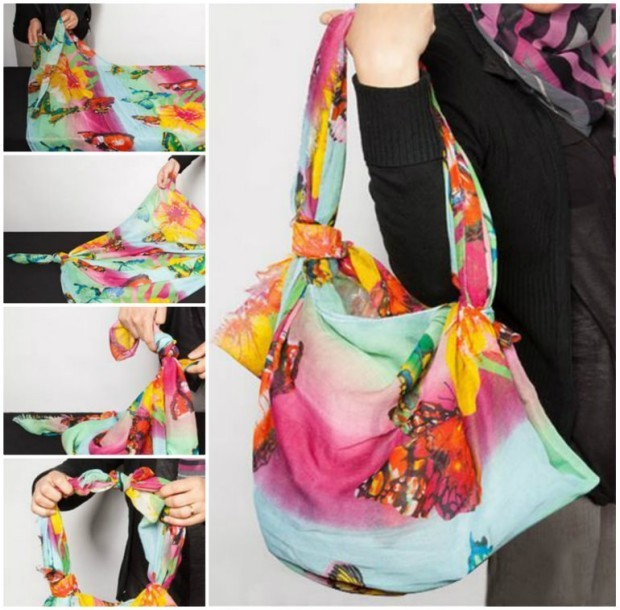 DIY-Scarf-Handbag-