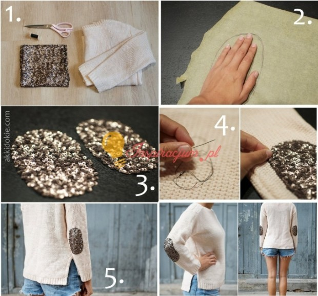 Do-it-yourself-Sequin-Elbow-Patches-