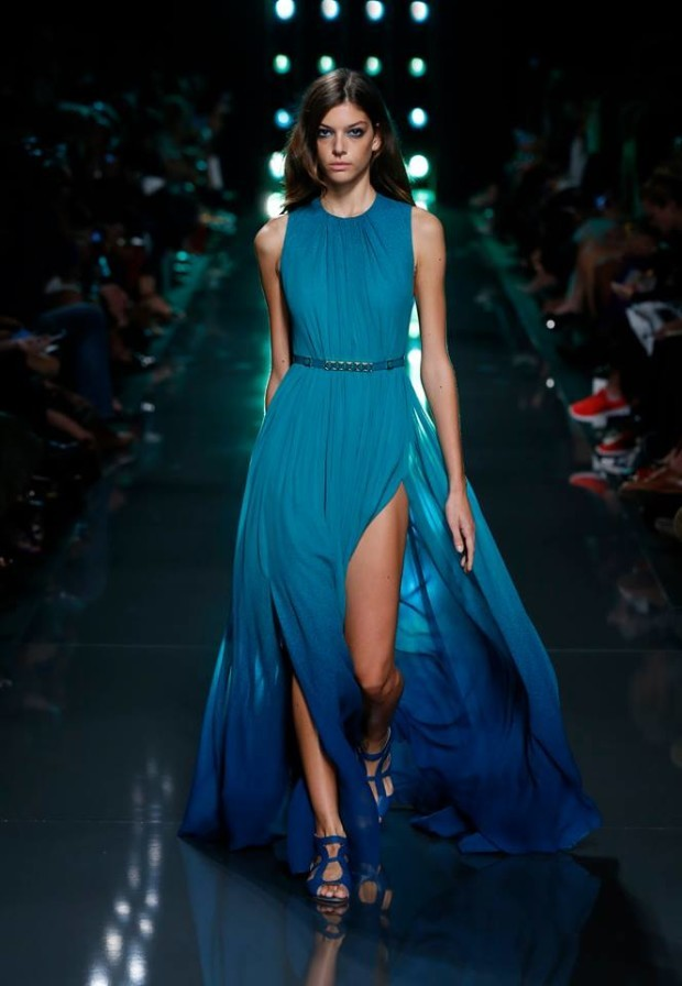 Elie-Saab blue fashion colors
