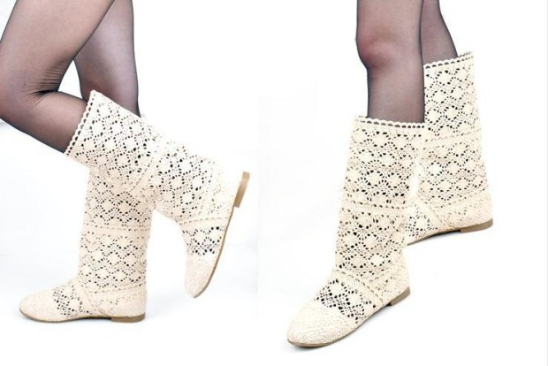 Free-shipping-2015-Knee-High-boots-spring-and-autumn-women-s-shoes-fashion-knitted-cutout-boots