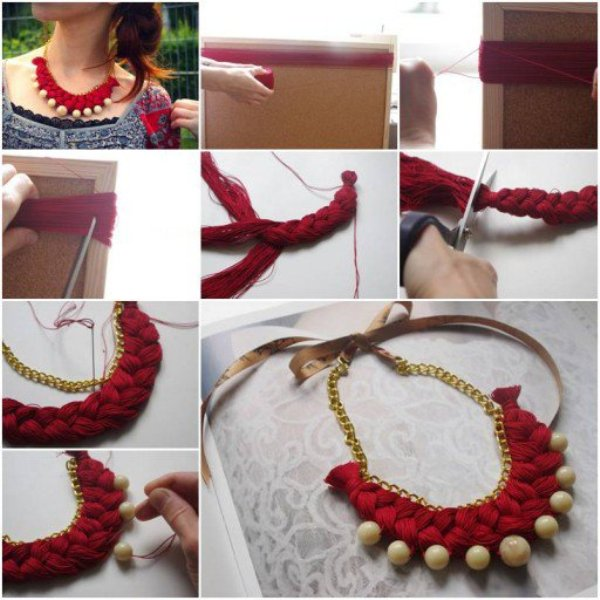 How-To-Make-Braided-gold-pearl-jewelry-Necklace-step-by-step-DIY-tutorial-instructions