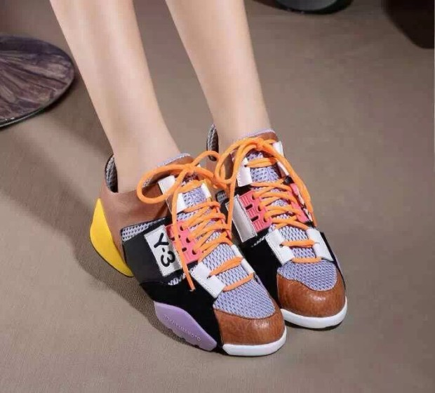 New-2015-Y3-sneaker-QASA-WT-RACER-Y3-Qasa-High-ankle-women-lace-up-sneakers-shoes