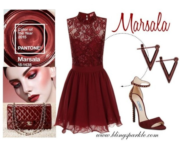 Pantone_Marsala colors