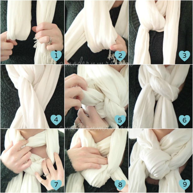 Scarf-Knot-Collage