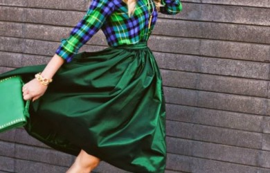 St. Patrick Day outfit ideas in green 1