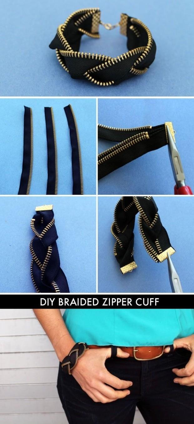 Zipper-Bracelet-Cuff
