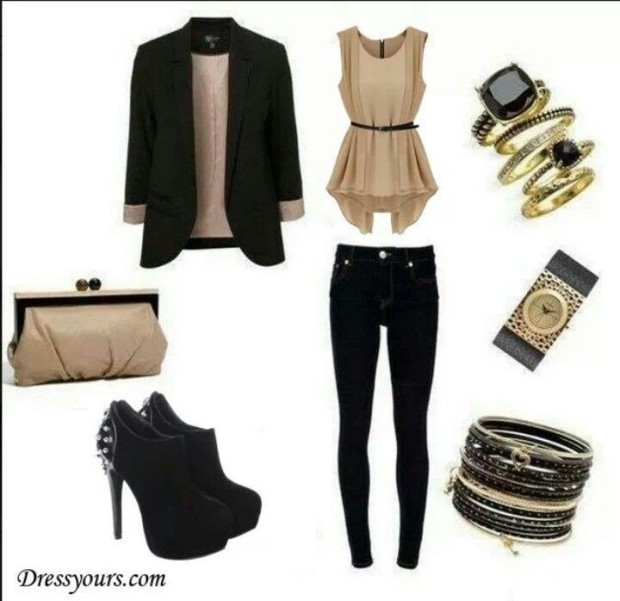 black colors outfits 2015