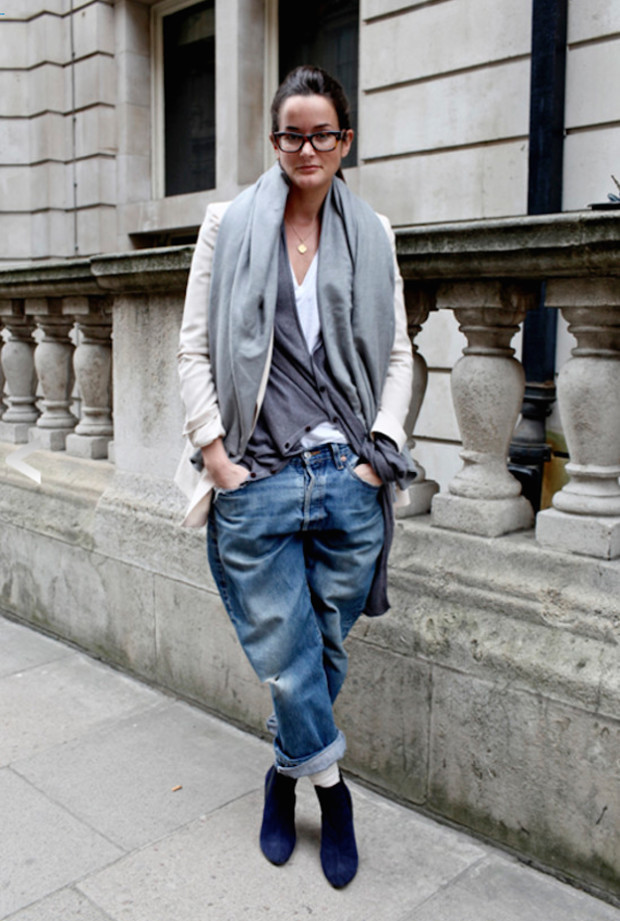 boyfriend denim jeans-london