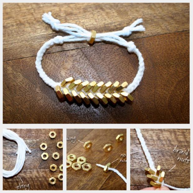 DIY Bracelets - braided-hex-nut-bracelet-feature