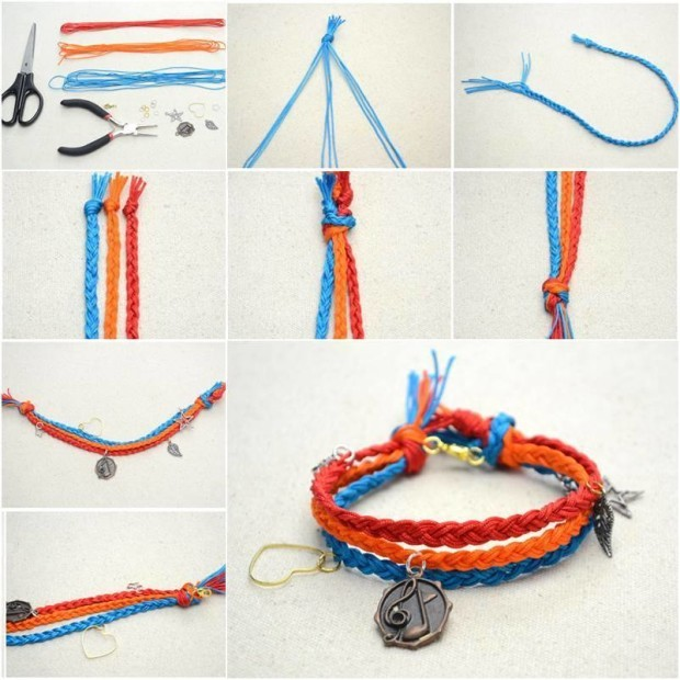 diy friendship bracelets tutorial