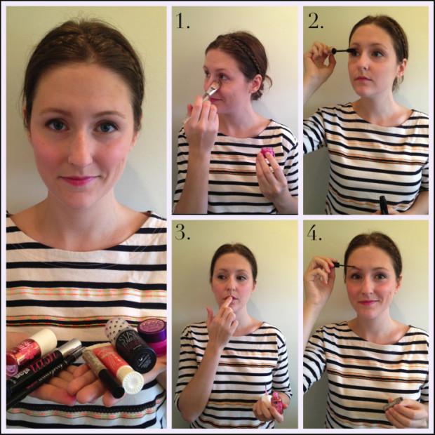 fashionbeautynews 5 min make up 1