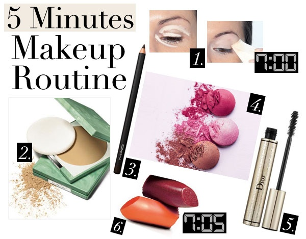 fashionbeautynews 5 min make up