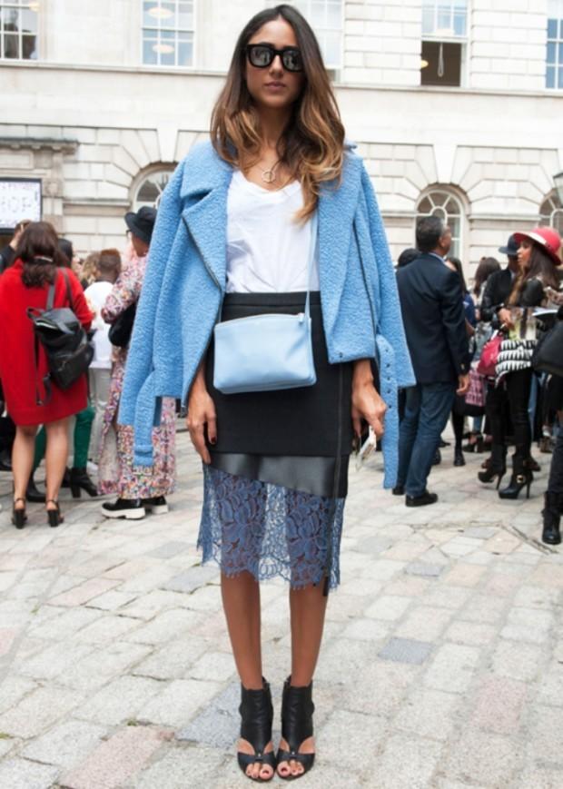 spring-2015-street-style skirt