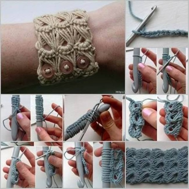 stylish-broomstick-crochet-bracelet
