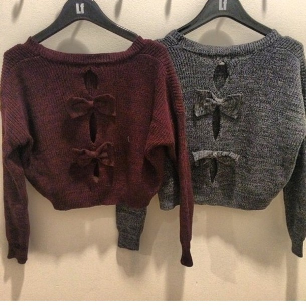 -sweater-bows-cropped+sweater-cropped-bowback-knitwear-knit+sweater-lfstore