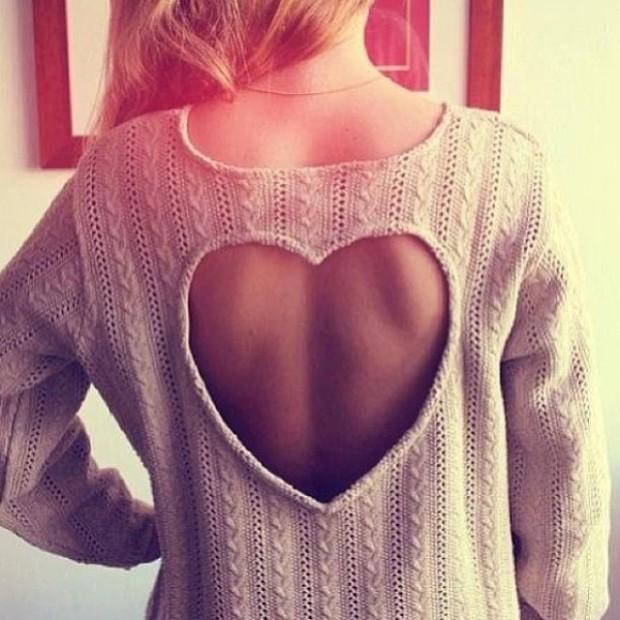 sweater refashion 2