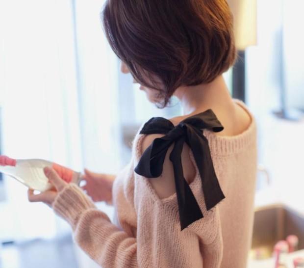 sweater refashion 3