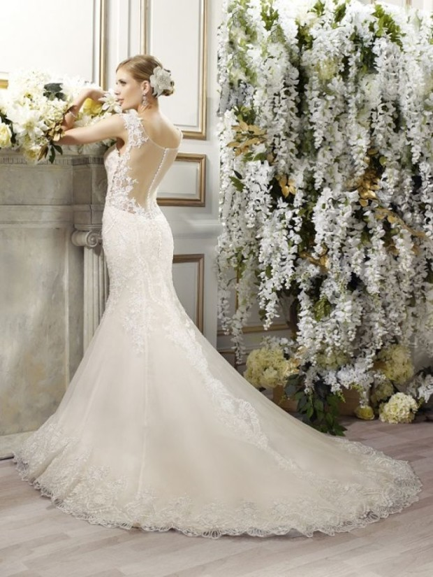 val-stefani-bridal-spring-2015-style-d8084-danica-mermaid-wedding-dress-embroidered-applique-straps-illusion-back-view-train