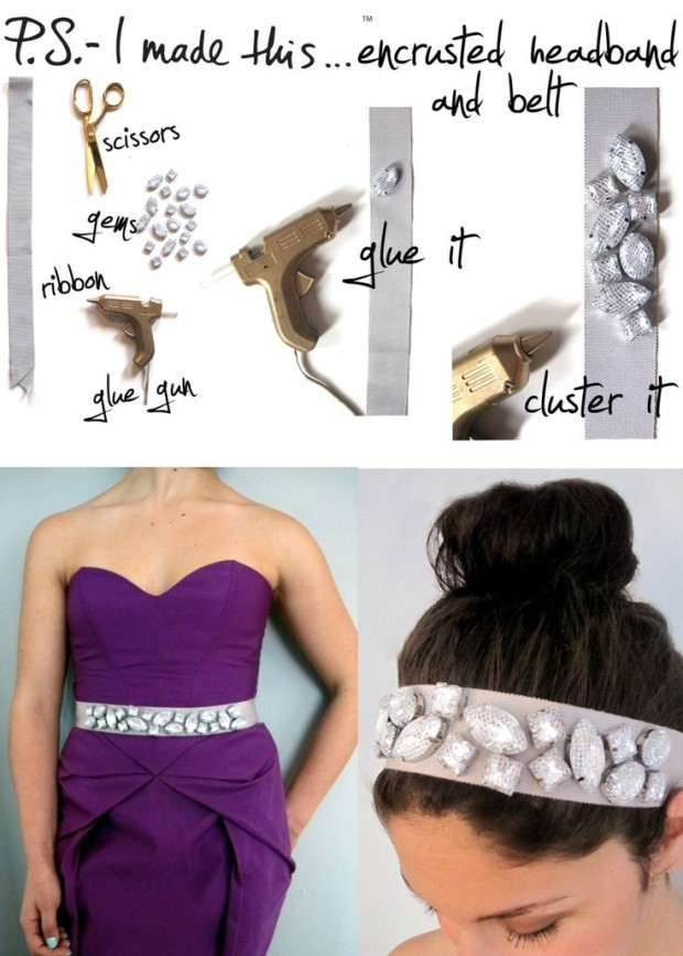 14 DIY Hair Accessories with Tutorials