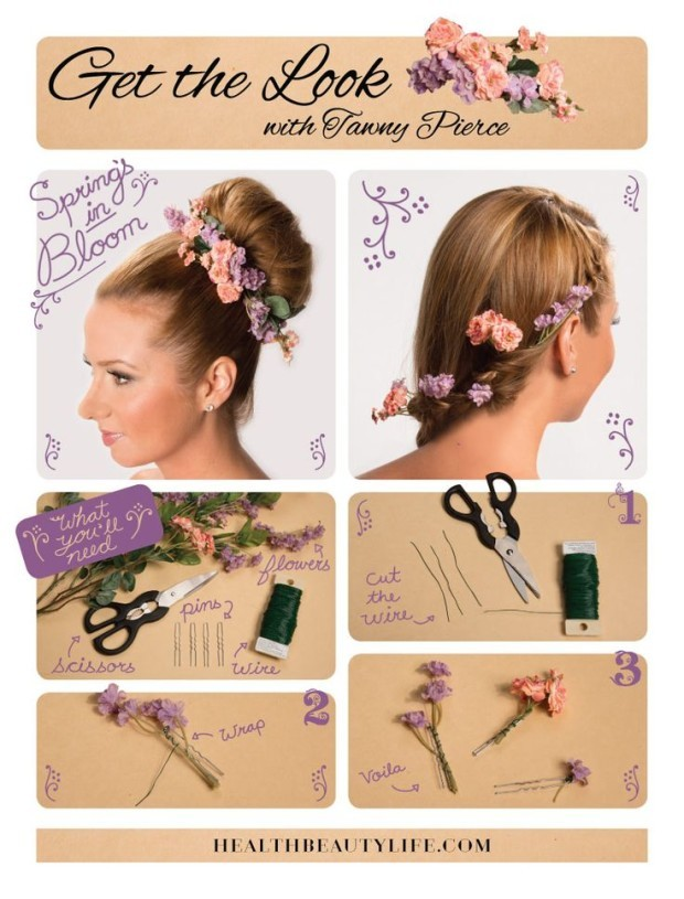 14 DIY Hair Accessories with Tutorials 3