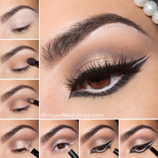 Charming-Eye-Makeup-Tutorial-with-Full-Eye-Liners