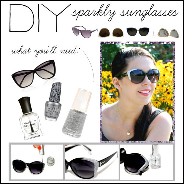 Creative Ways To Decorate Your Sunglasses 1