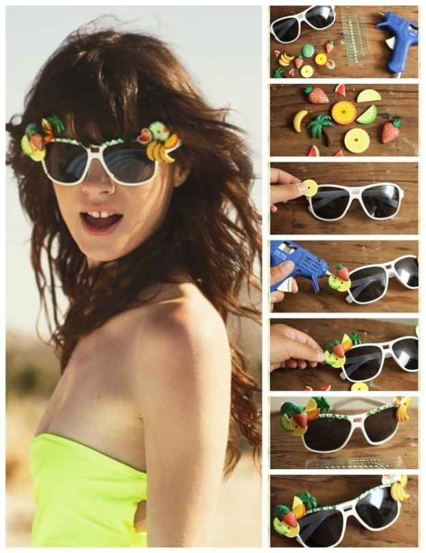 Creative Ways To Decorate Your Sunglasses 3
